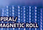 spiral magnetic roll